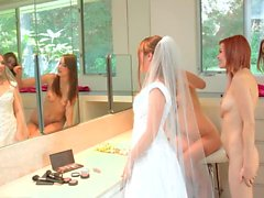 Malena Morgan Aurielee Summers and Two Nobodies in Lesbian Foursome !!