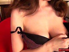 Sexy mature sex and cumshot