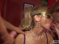 Cum in mouth & creampies - Natascha and Luna P2