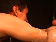 Raw fisted studs take arm