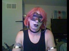 Danza caldo Goth CD Cam Show (parte 1 di 2)