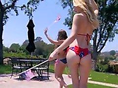 açık havada scissorfucking Pornstar Alexa Grace