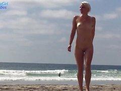 Ihmiset katsovat minua suutumaan Cock At The Naked Beach