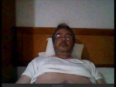 spanish grandpa wank cum