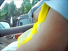 Tits по водителя грузовика мигание
