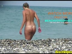 Hot Amateur Nudist Couple spiaggia Voyeur SpyHD Video