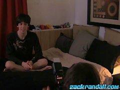 Zack Randall bareback fucks his hot young pal Tyler Haycock