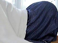 Ebony teen amarrado e buceta empurrado duro por galo enorme