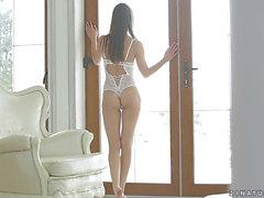Preciosa bailarina rusa tiene sexo con un tipo amoral