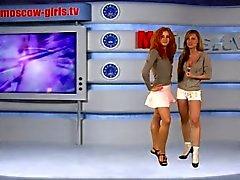 Venäjän Moskova tyttö TV Julia ja Olga Barz
