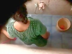 Indian Bhabhi Voyeur Shower