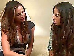 Milf Ariella Ferrera seducing Trinity St Claire