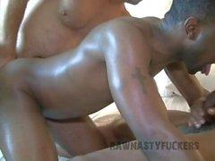 interracial group rogh sex bareback