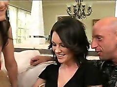 Élancé et sexy Audrey convaincu son mon mari hésitent à subvention
