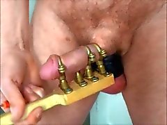 Metal cock holder on and off