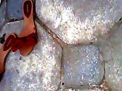 pies y las sandalias atractivo árabes