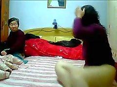 Chinese MILF Lesbo fatti in casa