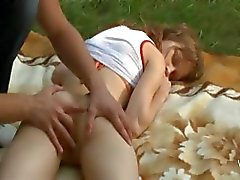 Beatas forest dream and ass fingering