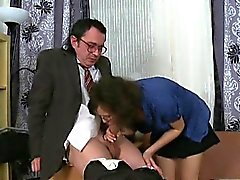 Sweet darling is offering her vagina for teacher's delight