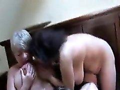 Méchant Amateur Older Women