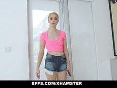 BFFS - Lucky Guy se la follan por modelos adolescentes calientes