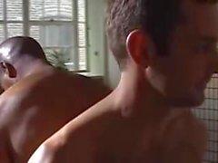 Yoga erotico di coppie gay