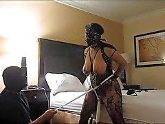 Da esposa escravo índio os orgasmos selvagem , braçadeiras e tit slapping