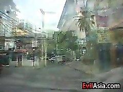 Amatör bir Filipinli becerdin döndürür