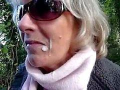 Outdoor BJ kanssa JasmineSkotlannin Slut MILF
