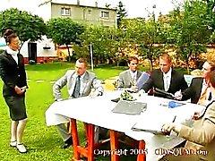 Клавдия Росси - librerian Gangbanged