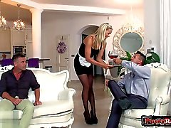 Busty gf spanking hard