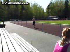 молоды тощая подросток трахает Финская suomiporno Финляндией finnporn Скандинавией