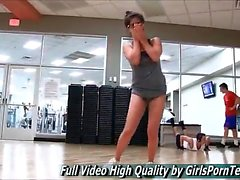 Porn teen Natalie xxx gym and her fresh pussy free full hd