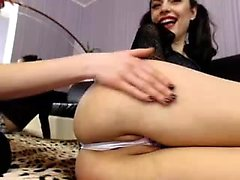 two girls licking and fingering each other viewcamgirls,com
