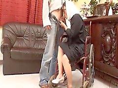 Cadeiras de rodas A avó Takes nova do galo