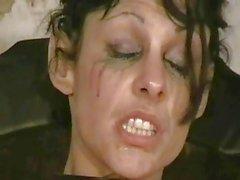 Insane Needle Torture of Crying Blonde Slaveslut