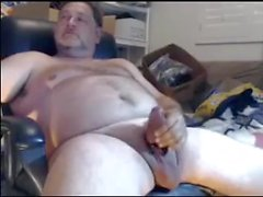 Wanking e Cum Shot