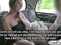 Gran Adulto boobs zorra rasgó a segundo plano por el conductor