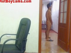 Hot Muscular Guy Does Great Webcam Show Part 3