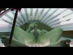 Реальный скрытой камеры в солярии