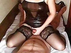 Masturbação namorada amador e anal com gozada
