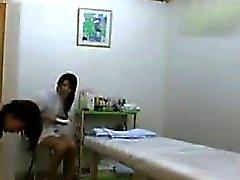 Cámara Espía De la sala de masajes