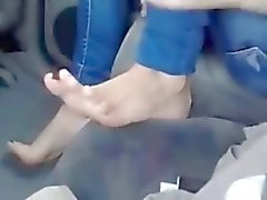Bir arabaya Mısır'daki sıcak Terledim Suriye'nin ayaklar !