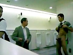 Hot Asian Shows In Public Toilet