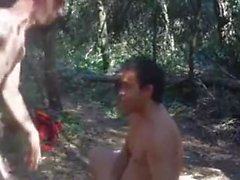 forest gangbang..reality outdoor sex