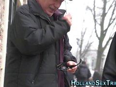 Hollantilainen ebony hooker vittuile