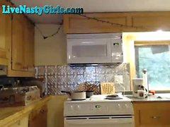 Pares Na Webcam Jogo na cozinha