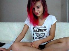 Stripping Webcam Slut Hot Masturbation