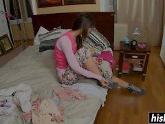 Marya obtient sa chatte labourée fort
