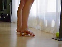 Ejercicios de pies de ballet